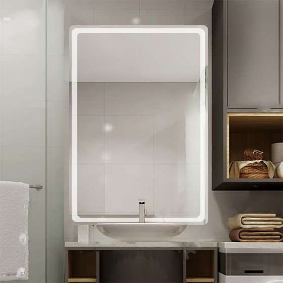 Oglinda baie cu iluminare...